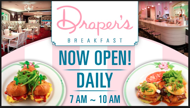 Draper's Cafe Sign