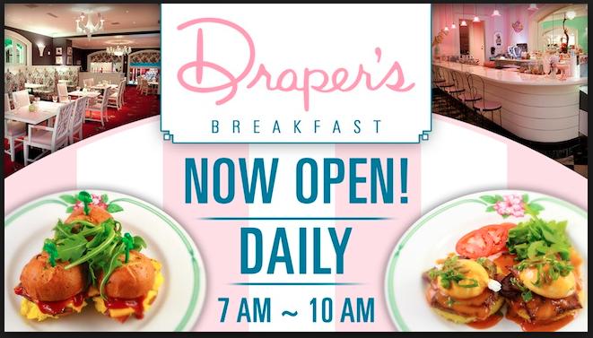 Draper's Cafe Sign