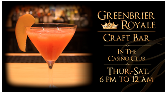Greenbrier Royale Craft Bar