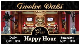 Twelve Oaks Happy Hour