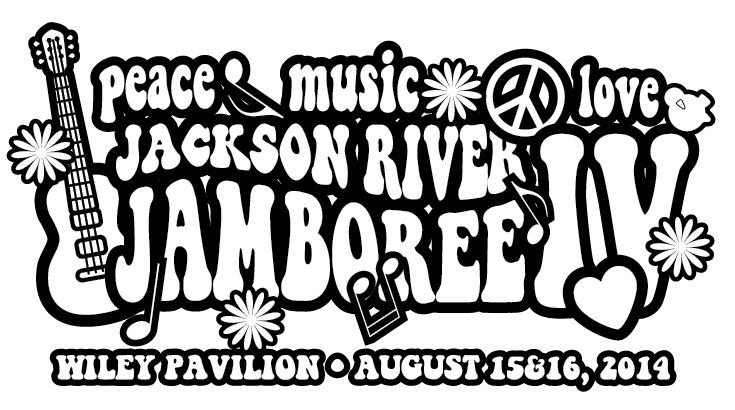 Jackson River Jamboree 2014 peace shirt design