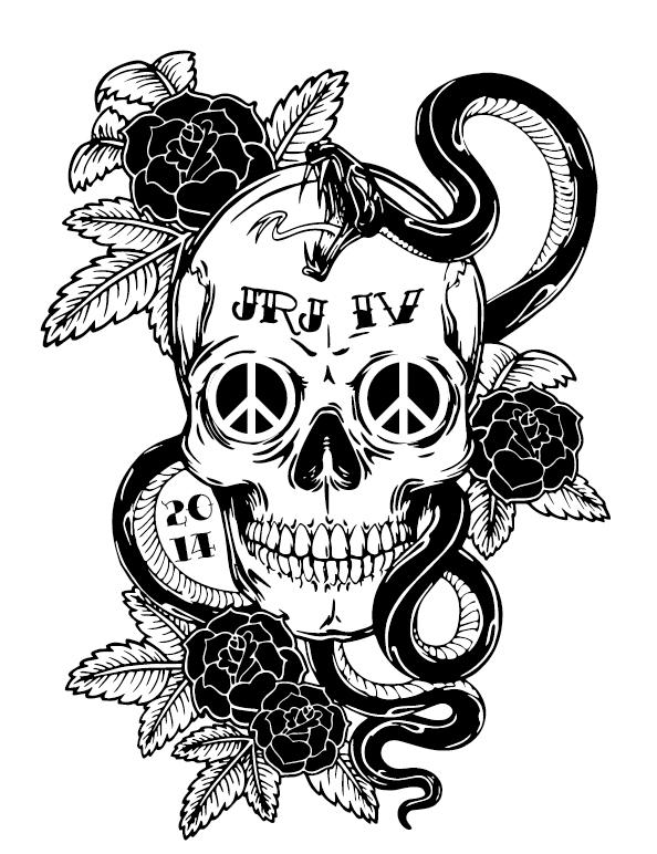 Jackson River Jamboree Skull 2014