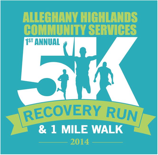 Alleghany Highlands Community Services 5K Logo