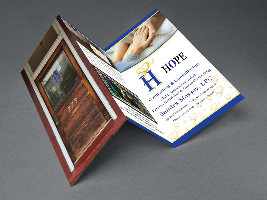 Hope Counseling Tri-Fold Front
